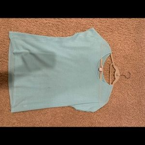 Cold water creek blue blouse